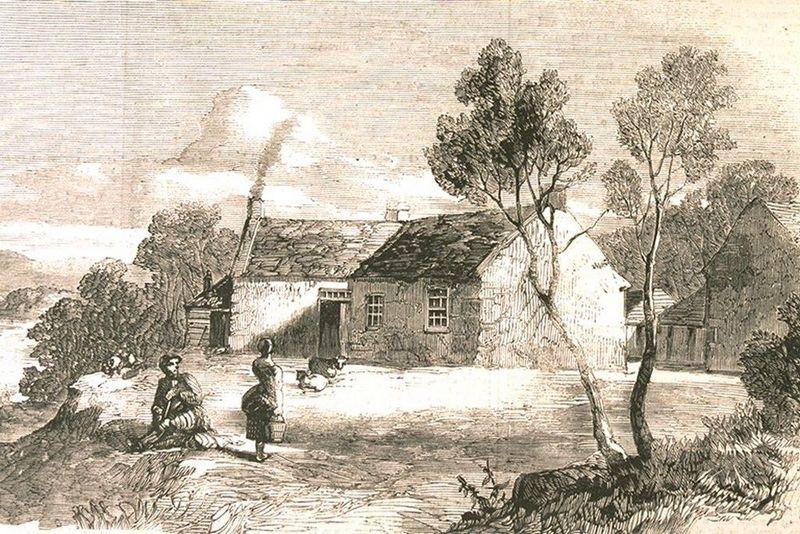 Burns'Farm At Ellisland on the River Nith near Dumfries