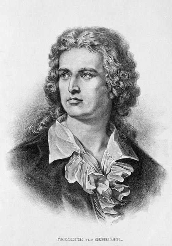 Friedrich von Schiller lithograph wikipedia