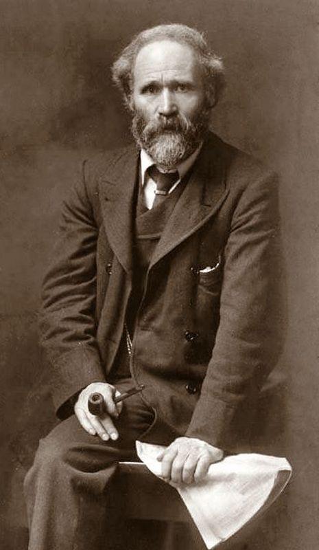 James Keir Hardie by John Furley Lewis 1902