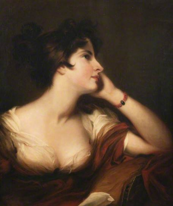 Maria Riddell, portrait c.1806 by Thomas Lawrence