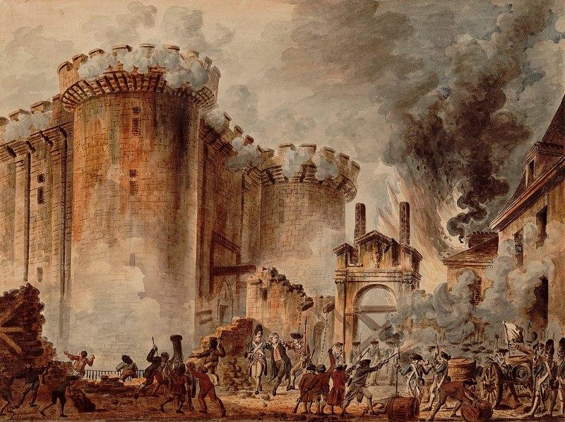Prise de la Bastille (1789) Jean-Pierre Houël