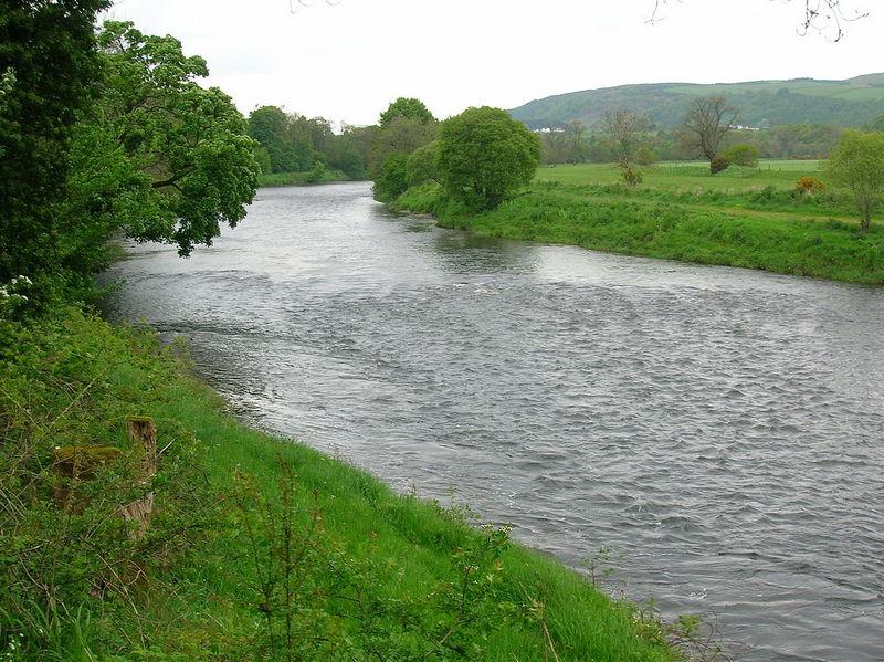 River Nith at Ellisland Scotland