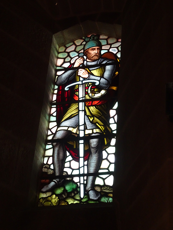 William Wallace stained glass window - Wallace Monument Stirling © 2019 Scotiana