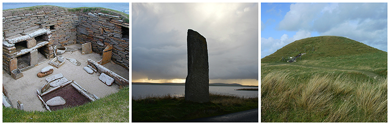 Orkney archeological sites ©-Scotiana 2012