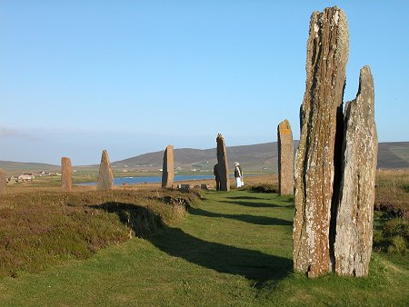 ring of brodgar standing stones orkney scotland