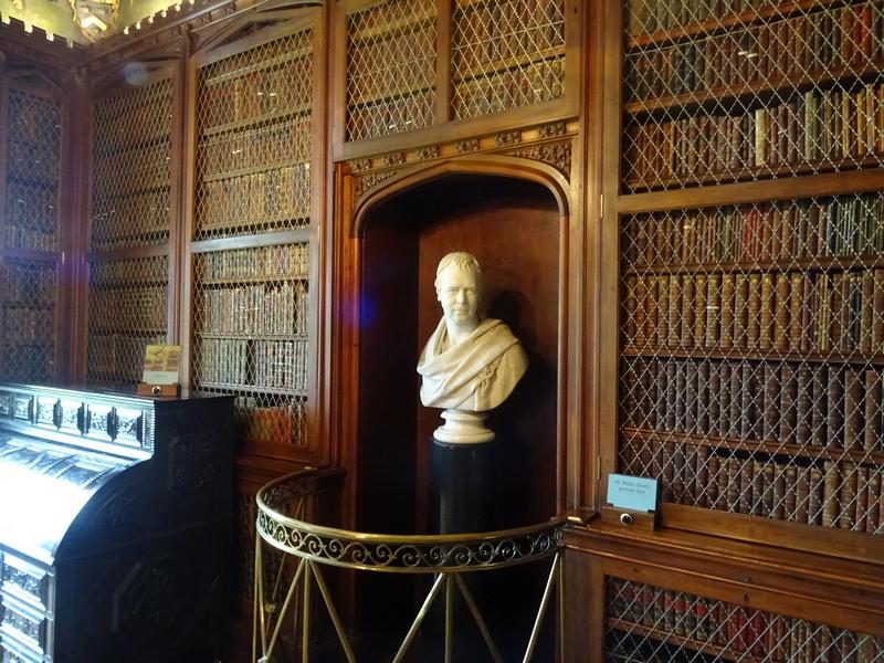 Abbotsford Walter Scott's Library Scotland © 2015 Scotiana