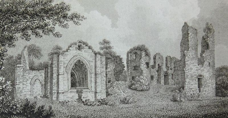 The Lincluden Collegiate Church near Dumfries - John Greig 1805